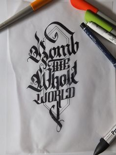Great calligraphy