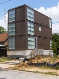 Shipping Container House – Atlanta | Runkle Consulting Inc.