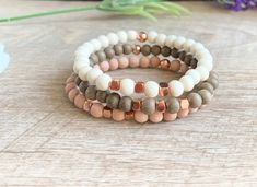 Excited to share the latest addition to my shop: Set Of 3 Aromatherapy Bracelets, Wood Diffuser Bracelets, Bracelet Set, Essential Oil Bracelet, Aromatherapy Bracelet Wood Bracelet, Bracelet Set, Essential Oil Diffuser, Essential Oils, Stretch Bracelets, Beaded Bracelets, Aromatherapy Jewelry, Best Oils, Pretty Roses