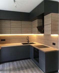 Kitchen Cupboard Designs, Kitchen Room Design, Home Decor Kitchen, Interior Design Kitchen, Kitchen Furniture, Industrial Kitchen Design, Modern Kitchen Design, Modern Kitchen Interiors, Cuisines Design