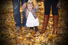 Fall Family Picture with this little QT