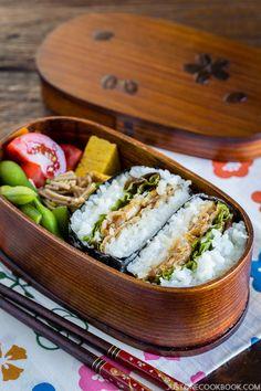 Ginger Pork Onigirazu (Rice Sandwich) | Easy Japanese Recipes at…
