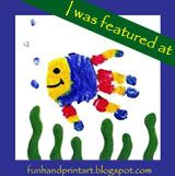Fun fish handprint crafts and more! Preschool Crafts, Fun Crafts, Arts And Crafts, Preschool Ideas, Teach Preschool, Fish Handprint, Handprint Painting, Handprint Poem, Creating Keepsakes