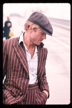 Iconos del estilo masculino. Robert Redford