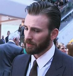 Christopher Robert Evans. Your face, sir.