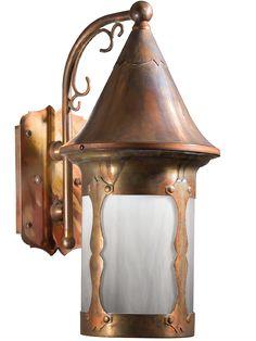 Vintage Hardware U0026 Lighting   Outdoor Light Arts U0026 Crafts Flush Mount Porch  Light (808 PRC BR) | Lamps | Pinterest | Light Art, Porch And Hardware