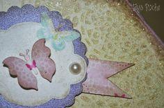 Tays Rocha: Maleta de borboletas estilo shabby - Workshop True Colors #artesanato #crafts #scrapdecor #scrapbooking #ateliermundocountry #taysrocha