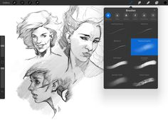 Our picks of the best free and premium Procreate brushes available.