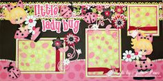 Patterns from Little Scraps of Heaven Designs.  Available on ebay here: http://www.ebay.com/itm/MOMZ-Premade-Girl-Scrapbook-Pages-w-paper-piecing-by-Julie-Little-Lady-Bug-/300741267805?pt=LH_DefaultDomain_0=item460593915d#ht_9672wt_1206