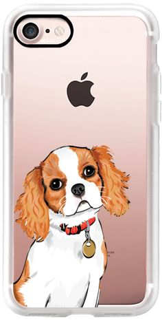 Casetify iPhone 7 Classic Grip Case - KING CHARLES SPANIEL by Katie Reed #Casetify