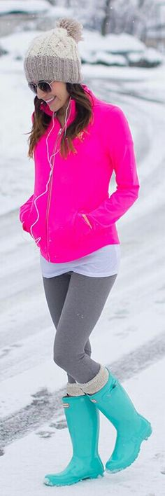 Neon up your winter ♥♥