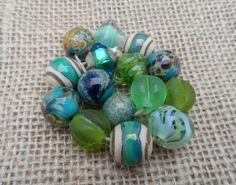 Handmade Lampwork Beads  Destash by LyndasLampwork on Etsy, $33.00