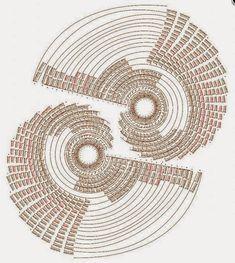 centro spirale uncinetto   Hobby lavori femminili - ricamo - uncinetto - maglia