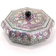 mother of pearl jewellery case,
