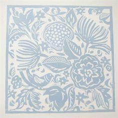 garden lino print - Google Search