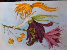 allez hop, je m'envole sur ma fleur de rêve magique et féérique : Peintures par mes-tronches-flaurifolles http://www.facebook.com/pages/LES-TRONCHES-FLAURIFOLLES/191864113278