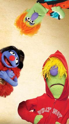 Create your own MUPPET at FAO Schwarz for $99. I love the idea.