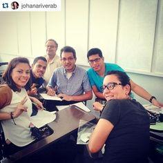 #Caracas ¡El trabajo en equipo da los mejores resultados! #Repost @johanariverab ・・・ #MomentoCeujap en el diplomado Ingeniería de Procesos!!