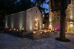 Under £3,500 for 20 people. Set in the heart of the Cypriot countryside with views across the surrounding valley of mature trees, this beautiful venue offers a unique retreat, a place of profound with health-giving waters which have benefited visitors for so many years. It is only 25 minutes drive from Paphos. It is based on the site of an old monastery founded by two brothers, Saints Cosmas and Damianos in 1649.