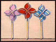 Wayne Thiebaud, Three Wind Toys, 1962, Pop Art
