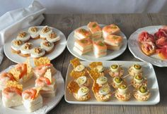 Canapes Faciles, Fiesta Party, Bruschetta, Scones, Buffet, Sushi, Salmon, Food And Drink, Menu