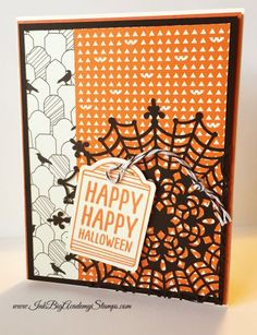 Stampin'Up! Holiday Catalog, sneak peek, Happy Hauntings stamp set, spider web doilies, ink big academy stamps, lisa pretto