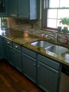 Concrete Countertop Projects