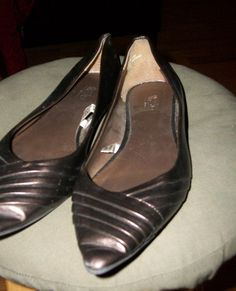 Metallic Bronze Flats  - $29.00