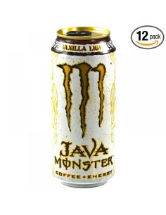 Java Monster Coffee + Energy Drink, Vanilla Light, Love this!!