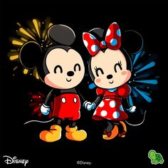 Mickey and Minnie Forever T-Shirt Disney TeeTurtle black t-shirt featuring Micke and Minnie Mouse with fireworks in the background Mickey Mouse Imagenes, Mickey Mouse Clipart, Mickey Cartoons, Mickey Mouse Cartoon, Mickey Mouse And Friends, Mickey Minnie Mouse, Disney Mickey, Disney Art, Mickey Mouse Wallpaper