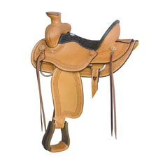 """Dark Horse Tack is proud to offer... Tree: BC bullhide cowboy rancher Seat: 16"""" seat Cantle: 5"""" oval with rawhide binder Horn: 4"""" x 4"""" with rawhide binder Rigging: Full double stainless dees Finish: N"""