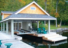 boat dock house - Google Search