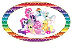 Imprimibles de My Little Pony 2. | Ideas y material gratis para fiestas y…