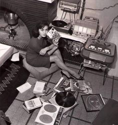 Michèle Mercier, record girl