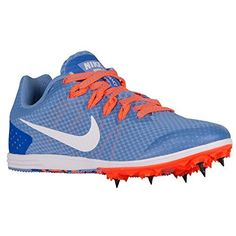 Nike Zoom Rival Women's Track Spike Shoes - Synthetic Flywire cables lock  down the midfoot. Spike plate extends under the arch for midfoot response  and ...