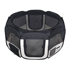 New Small Black Pet Dog Cat Tent Playpen Exercise Play Pen Soft Crate T08 ** You can get more details here (This is an amazon affiliate link. I may earn commission from it)