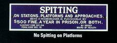 spitting
