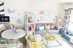 Living Room Tour - sarah m. dorsey designs