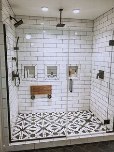 28 Beautiful Farmhouse Bathroom Design and Decor Ideas You Will Go Crazy For - I. 28 Beautiful Farmhouse Bathroom Design and Decor Ideas You Will Go Crazy For - Interior design insp - Bold Bathroom Tile, Interior, Home Remodeling, Cheap Home Decor, Home Decor, House Interior, Bathroom Interior, Bathrooms Remodel, Bathroom Decor