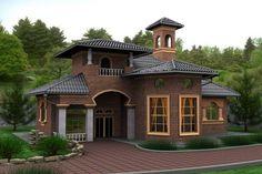 Уютный маленький дом