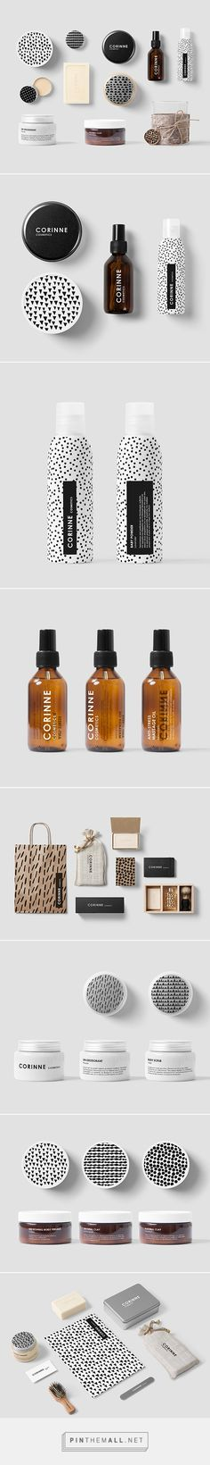 Corinne Designed by Anna Trympali Craft Packaging, Food Packaging Design, Soap Packaging, Branding Design, Skincare Packaging, Beauty Packaging, Cosmetic Packaging, Packaging Inspiration, Makeup Package
