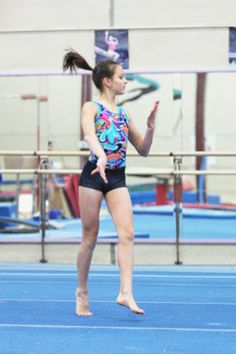 Omega Gymnastics' Shallon Olsen finished second all-around at the Elite Canada meet last week. [Tri-Cities Now]