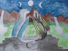 three winter moons by Magikitty on DeviantArt