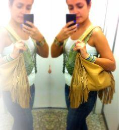 Boho style / My style / Acessorie / Bolsa de Franja / Amart