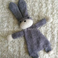 Bunny Ragdoll Baby and Toddler Amigurumi Toy Crochet