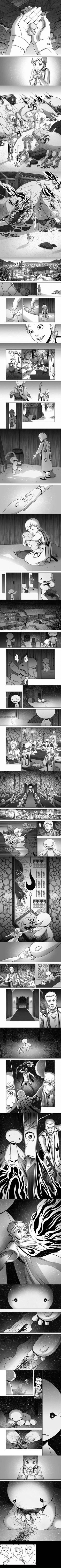F**king ninja cutting onions!!! Name of the comic: Mother's Hand by Lydia