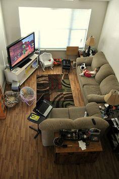 Living room, via Flickr.