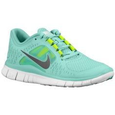 low priced 42f39 acd73 Nike Free Runs Bright Tiffany Blue, with highlighter yellow accents. I m in  love ♥, too bad net site for full of off nike free run 3 girls