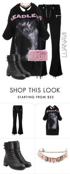 """""""Senza titolo #712"""" by luanavii ❤ liked on Polyvore featuring Unravel, Hood by Air, Philosophy di Lorenzo Serafini, O-Mighty and Mr & Mrs Italy"""