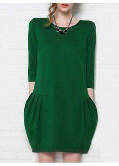 knit dress would be even prettier if it was short sleeve. Still love it :-)